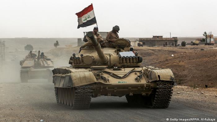 Irak Offensive auf IS-Hochburg Hawidscha