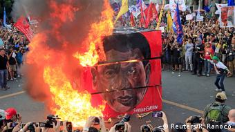 Philippinen Protest gegen Duterte