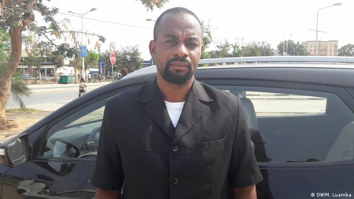 Angola Nelito Ekuikui - Parlamentar von UNITA