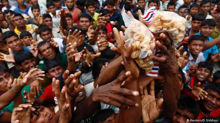Rohyngia Krise Lebensmittel Versorgung