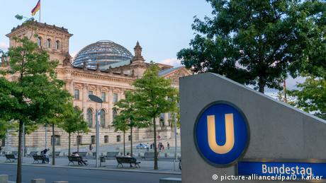 El edificio del Reichstag en Berlín.