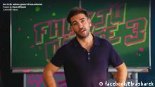 Kampagne vom Schauspieler Elyas M'Barek zum Thema Bundestagswahl