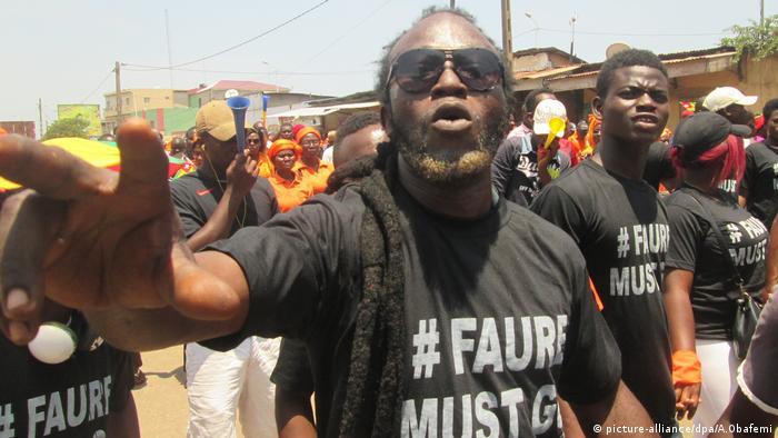 Togo Demonstration Togo