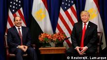 UN Generalversammlung in New York | Donald Trump & Abdel Fatah al-Sisi