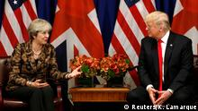 UN Generalversammlung in New York | Donald Trump & Theresa May