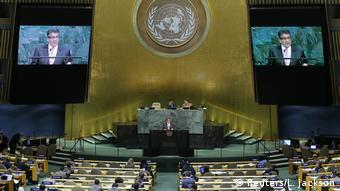 UN Generalversammlung in New York   Sigmar Gabriel, Außenminister Deutschland (Reuters/L. Jackson)