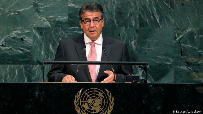 زیگمار گابریل، وزیر امور خارجه آلمان در مجمع عمومی سازمان ملل: ما علاقهای نداریم، توافق هستهای با ایران را به خطر بیاندازیم