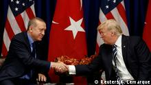 USA trump und Erdogan Treffen in New York