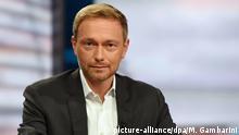 Schlussrunde von ARD und ZDF zur Bundestagswahl | Christian Lindner