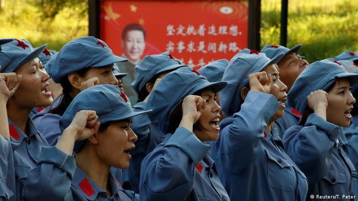 China Teambuilding-Maßnahme Langer Marsch