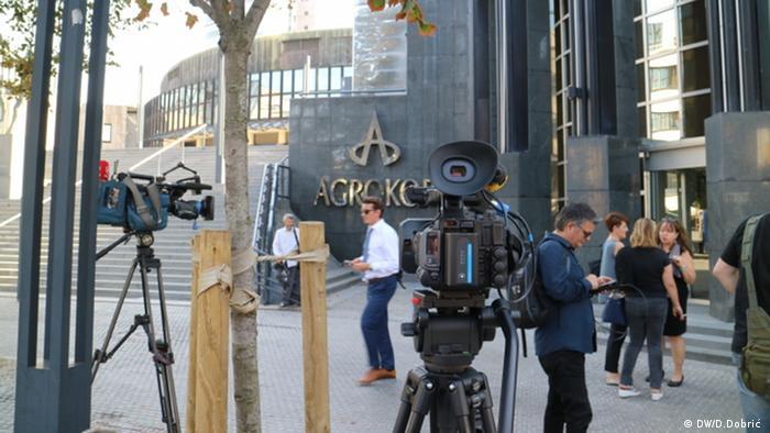 Novinari ispred sjedišta Agrokora