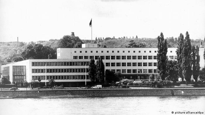 Будівля, в якій проходили засідання Бундестагу у Бонні, 1949 рік