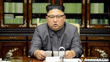 Nordkorea Kim Jong Un Statement zu Trump und seine UN Rede