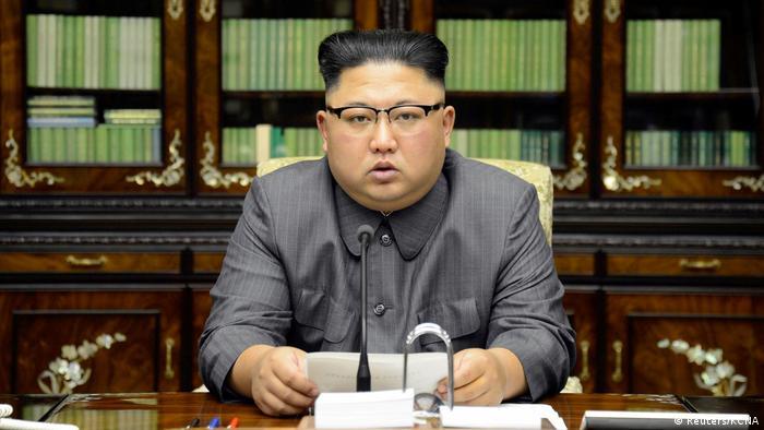 Kim Jong Un Statement (Reuters/KCNA)
