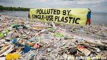 Philippinen Putzaktion auf der Freedom-Insel und Markenprüfung