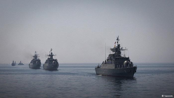 Iran Kriegsschiffe im persischen Golf