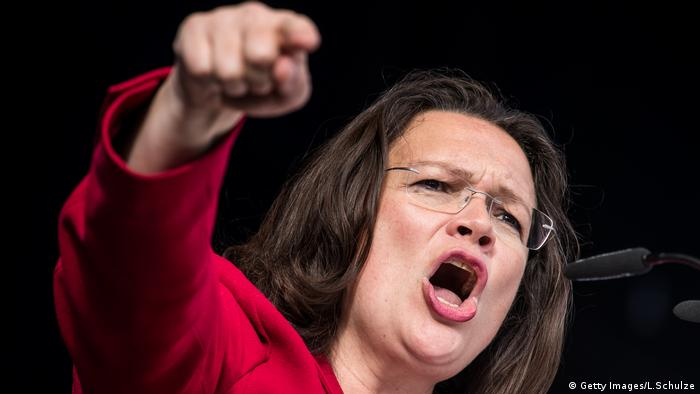 Andrea Nahles (Getty Images/L.Schulze)
