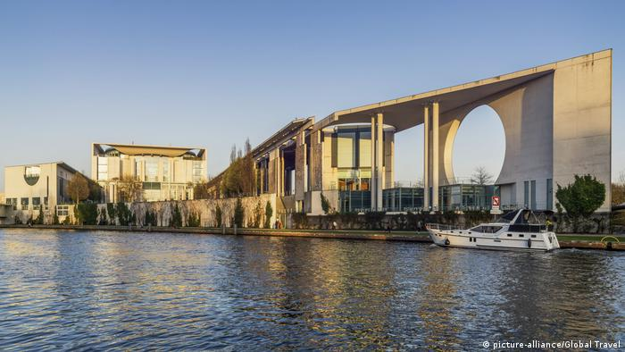 Bundeskanzleramt , Spree, Berlin, Germany (picture-alliance/Global Travel)