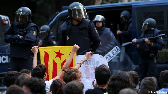 Spanien, Demonstationen