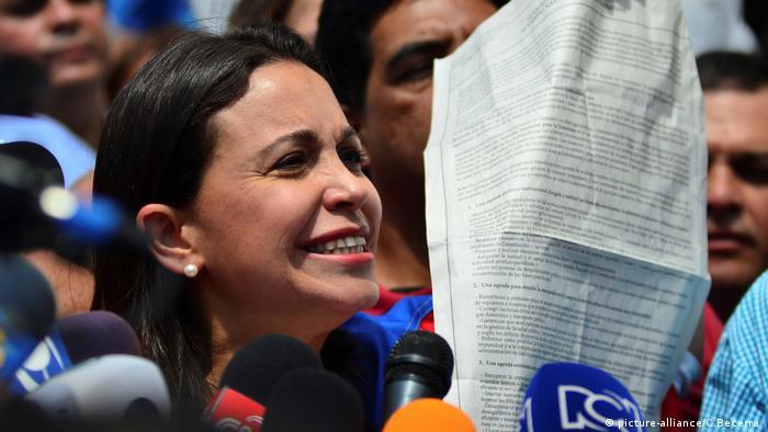 Venezuelan oppositions politician María Corina Machado
