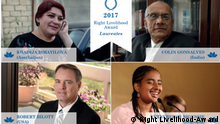 Gewinner des Right Livelihood-Awards (Right Livelihood-Award)