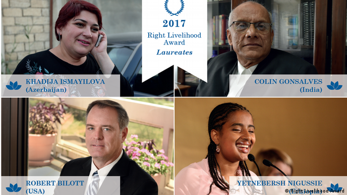 Winnres of the Right Livelihood Awards (Right Livelihood-Award)