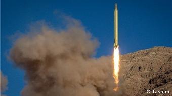 Ballistische Rakete Iran Ghadr F.