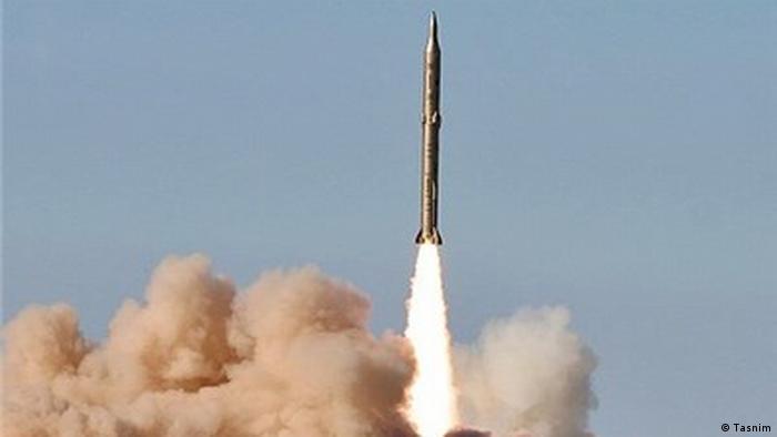 Запуск баллистической ракеты в Иране (фото из архива)