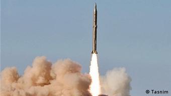 Ballistische Rakete Iran Sedjil