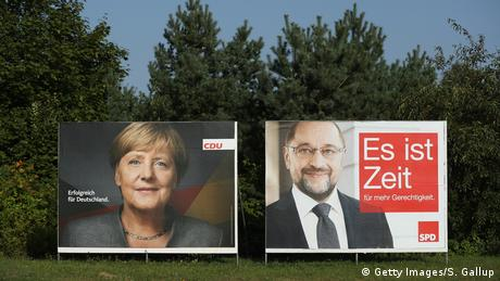 Deutschland Plakate Bundestagswahlen 2017 (Getty Images/S. Gallup)