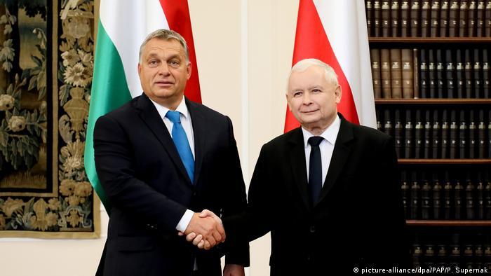 Polen Viktor Orban in Warschau (picture-alliance/dpa/PAP/P. Supernak)