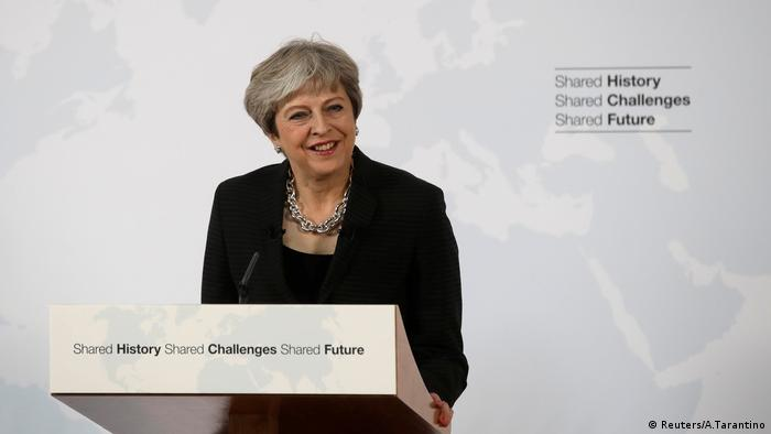 UK PM Theresa May proposes Brexit transition in Florence speech