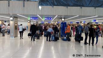 В кишиневском аэропорту