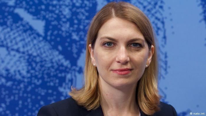 Kristina Baleisyte, șefa Biroului de legătură NATO din Chișinău