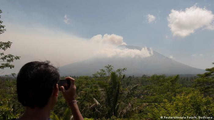Bali's Mount Agung volcano