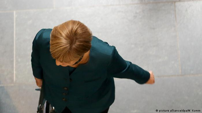 Angela Merkel (picture alliance/dpa/W. Kumm)