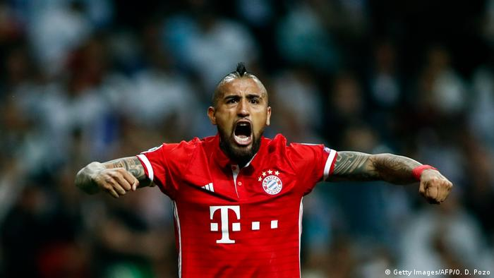 Arturo Vidal - Médio do Bayern de Munique