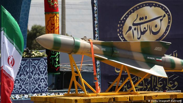 Iran Ballistische Rakete (Getty Images/F.Bahrami)