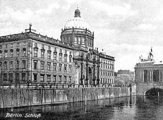 The Palace in downtown Berlin as it once was
