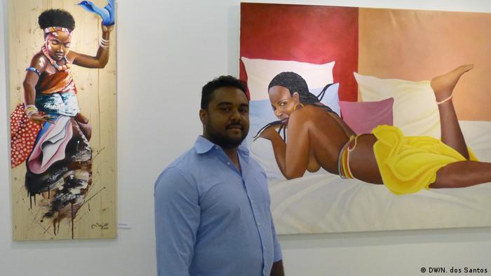 Kap Verde Edy Matos, Künstler aus Guinea-Bissau