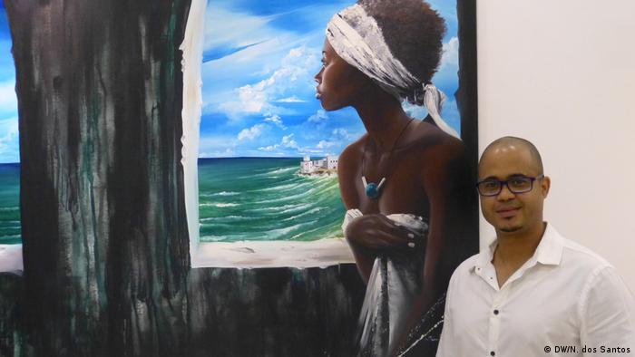 Kap Verde Sidney Cerqueira, Künstler aus Guinea-Bissau