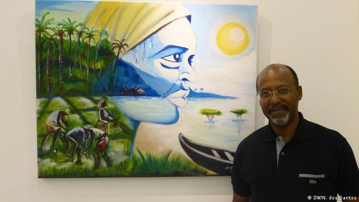 Kap Verde João Carlos Barros, Künstler aus Guinea-Bissau