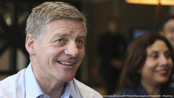 Neuseeland Wahl Premierminister Bill English (picture-alliance/AP Photo/New Zealand Herald/D. Sherring)