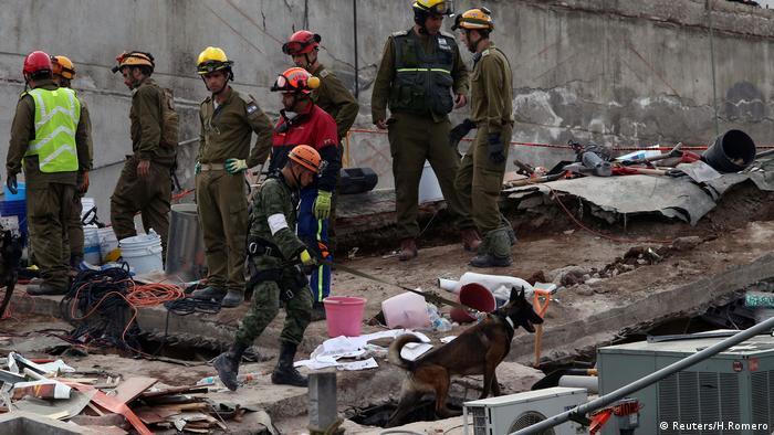 wieder erdbeben in mexiko