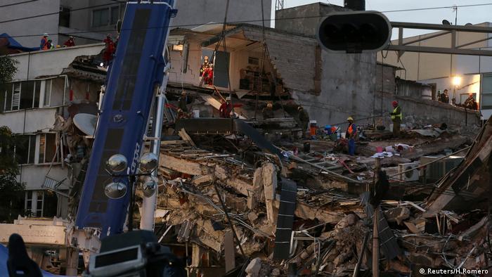Cidade do México foi uma das mais afetada pelos terremotos