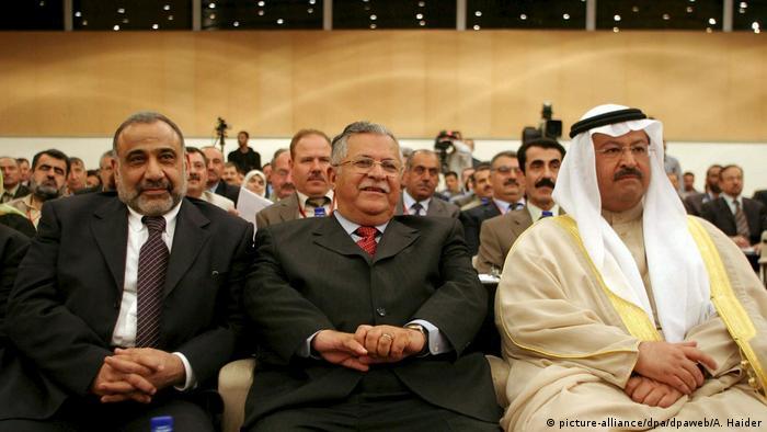 Irak Dschalal Talabani wird neuer Staatspräsident (picture-alliance/dpa/dpaweb/A. Haider)