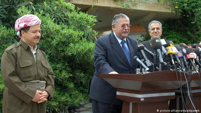 Irak Präsident Dschalal Talabani (picture-alliance/dpa/dpaweb)