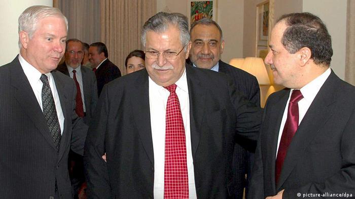 Irak Besuch US-Verteidigungsminister Gates (picture-alliance/dpa)