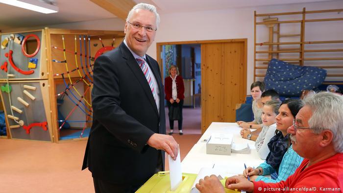 Deutschland Bundestagswahl Joachim Herrmann (picture-alliance/dpa/D. Karmann)