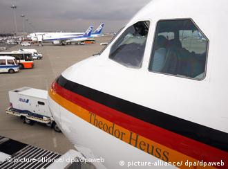 Канцлерский аэробус A310 Теодор Хойс